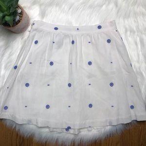 & Other Stories White Mini Skirt Size 10